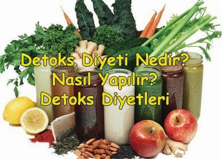 DETOKS DİYETLERE DİKKAT!